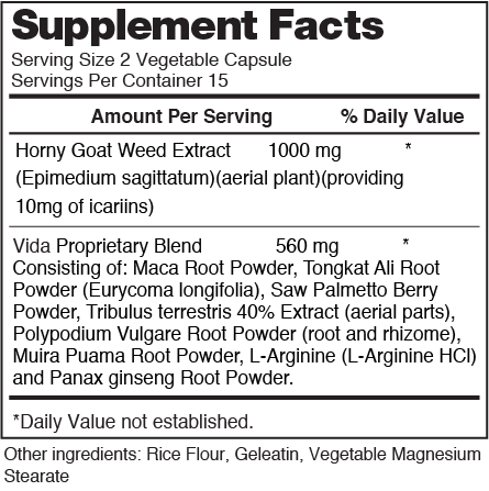 Venus nutrition facts